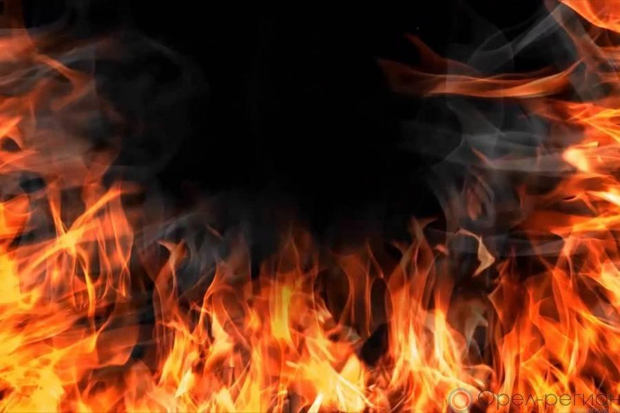 ВОрловском районе вдачном домике сгорели два мужчины