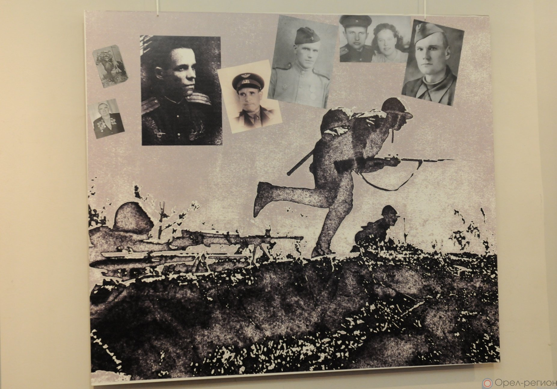 Тема подвига защитников Отечества по-прежнему остаётся главной в творчестве заслуженного художника России Анатолия Костяникова
