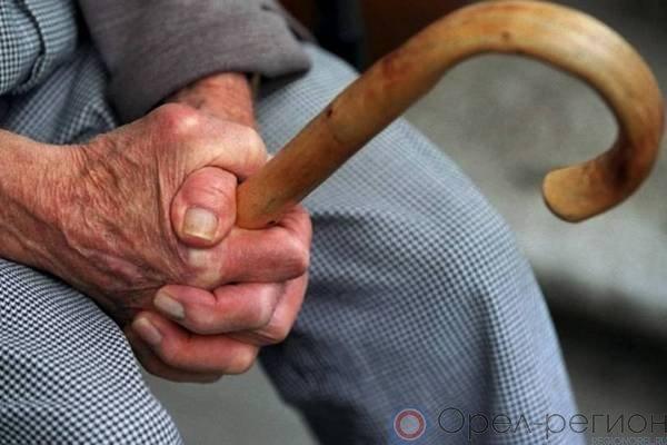ВОрле преступник безжалостно избил пенсионера упитейной
