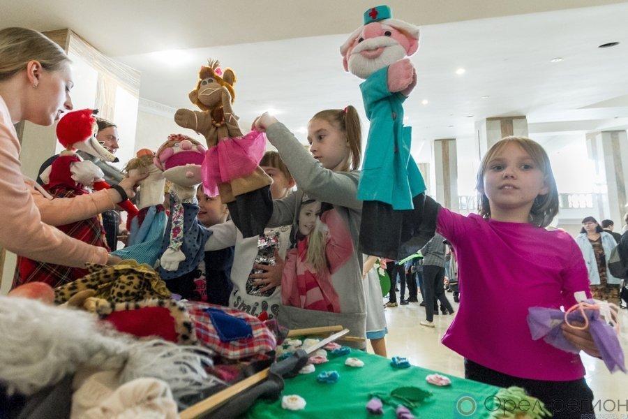 Архипелаг добра: В Орле прошла VIII Всероссийская акция «Добровольцы - детям»